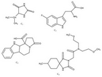 Figure 3. Final compounds for antifungal screening, named C1, C2, C3 and C4